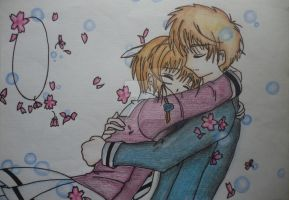 Sakura and Syaoran by MailoWilliams