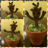 Baby Groot by Nicoule