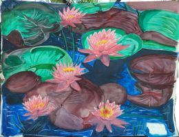 Water lily 16-29-1 by Lisa22882