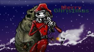 Sandy Claws is comin to town by BananaGoddess