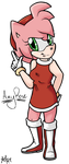 Amy Rose by Neon-X-Kittenz