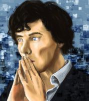 Benedict Cumberbatch by Arbitrary-Means