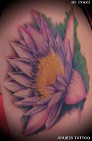 flower on arm by Anubis-osijek