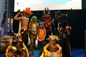 Japan Expo Wakfu cosplay group by Cosplay-Spirit-Team