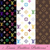 Louis Vuitton Patterns by DariaFalcon