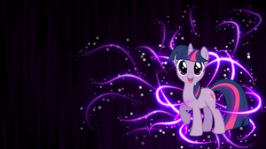 Twilight Sparkle Wallpaper by piranhaplant1