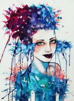 Painted with Beauty - by PixieCold by JacintaMaree