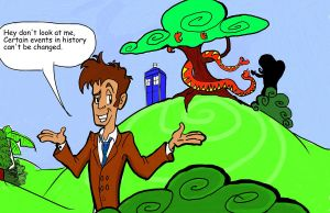 Dr.Who in the Garden of Eden 2 by Kenny-boy