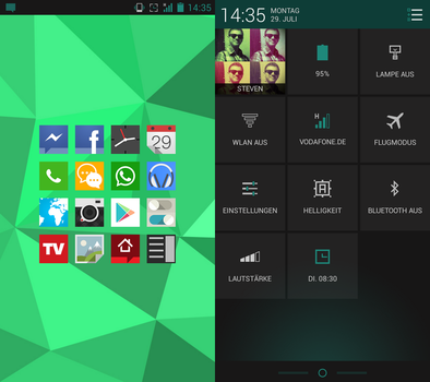 My HTC ONE X - Cyanogenmod 10.1 by Fard44