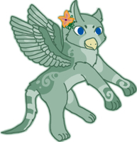 Hatched Gryphon chick 5 by KittehzAdopts