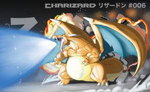 006-Charizard by gillpanda