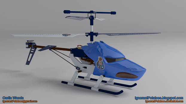 RC Helicopter - FCP by IgnorantPotatoes