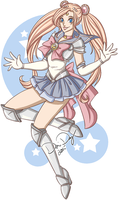 Sailor Silver Moon by FlantsyFlan