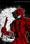 Daredevil (color) by Abylaikhan