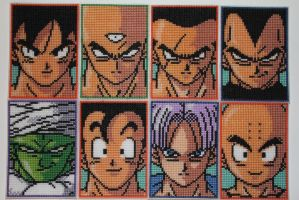 Dragon Ball Z Fighters by animestyle13