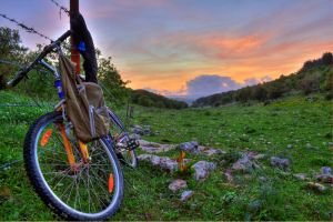 My HDR bicycle by the13wizard