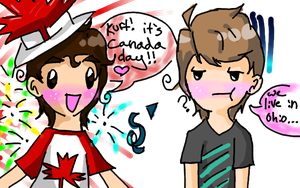 Happy Canada Day by georgiatheninja