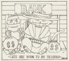 Cats are born to be thieves (new) by Malik-no-Ga