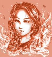 |C| Katniss Everdeen~ from Hunger Games by RossiniCrezyel