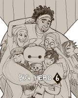 Big Hero 6 by imamong