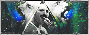 Freddy Mercury by xDome
