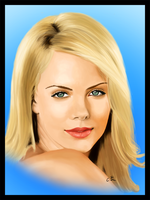 Portrait: Charlize Theron by sevendays007