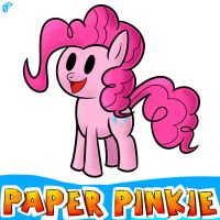 Paper Pinkie by ParadigmPizza