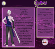 .::Gyozo ~ Ruler of Cynitives::. by MaeofClovers