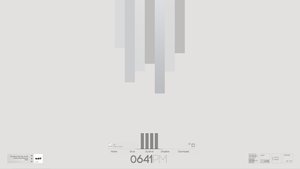 Minimal Grey Bar theme by SebHolm91
