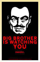 Big Brother Is Watching You by kitten-boy