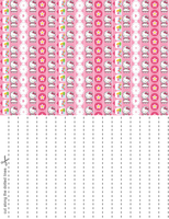 Hello Kitty Candies Star Paper by blackheartqueen
