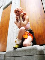 FFXIII - Almost fanservice... by Hyokenseisou-Cosplay