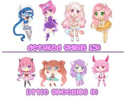 ~Chibi commissions~ by candykiki
