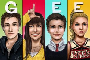 GLEE by daniellesylvan