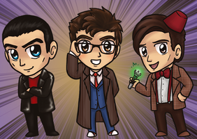 Doctor Who Charms by yuliya
