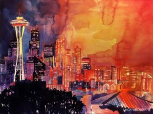Seattle by takmaj