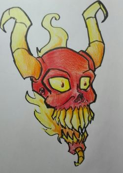 Demonhead by thelost544