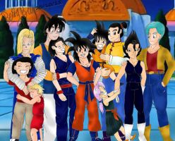 Dragon Ball - Gender bent 3 (End) by Betty26Blue