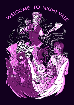Welcome to Night Vale by Simply-Psycho