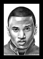 Trey Songz by PrinceDamian92