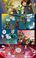 Test S.H.I.E.L.D. comic Page Six by Saturn-Kitty