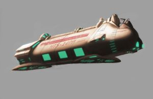 Cargo Ship Concept by Myiaorkhley