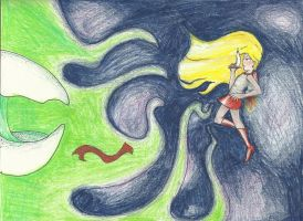 SPACE MAY VS GREEN GOLIOTH by deathbyalchemist13