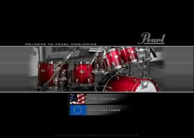 Pearl Drums Main Page by shermanmanman