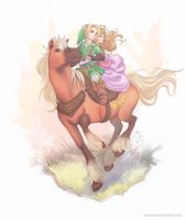 Epona by brightless