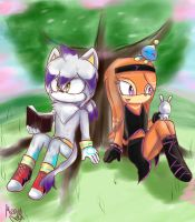 |SNG|Under the tree by Cometshina