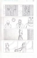 ClownTown Page 13 Pencils by ShotgunZen