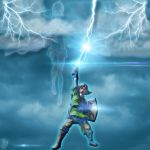 The Legend of Zelda Fanart: Skyward Sword Scene by ReyMysterio79907