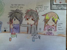 LUNCHTIME WITH BOTDF by Hetaeater