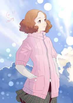 Haru Okumura by Autumn-Sacura